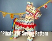 PDF Pattern Cinco de Mayo Plush Pinata