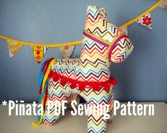 PDF Pattern Cinco de Mayo Plush Pinata