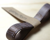 Woodgrain Satin Ribbon / 1 cm wide 120 cm long