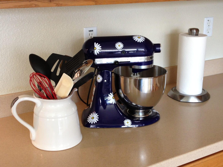 Kitchen Mixer Decals ~ Kitchenaid decal kitchen aid vinyl sticker mixer