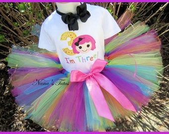 Birthday Sugar Crumb with Number, Party Outfit,Tutu Set, Personalized, Theme  Parties in Sizes 1yr thru 5yrs