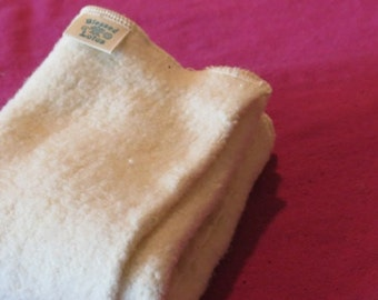 Cloth Diaper- Organic Cotton/Hemp Fleece, size SMALL