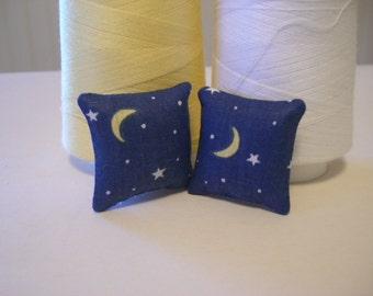 "1"" Scale Stars and Moon Dollhouse Miniature"