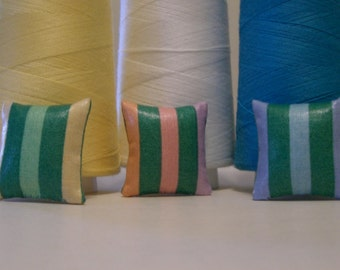 Striped Dollhouse Pillow - 3 Options