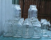 Reserved for McKenzie twenty square Antique Mason Jars Atlas Mason
