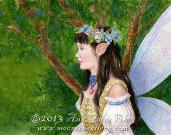 The Greenwood- Fantasy Art Print