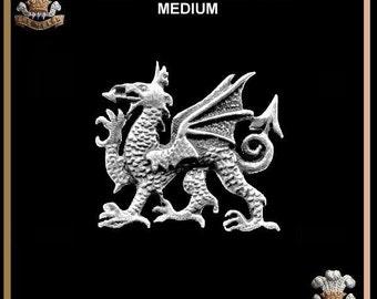 Welsh Dragon Brooch Symbol Of Wales Pin