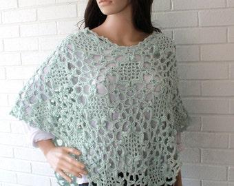 Elegant Poncho Crochet Pattern PDF