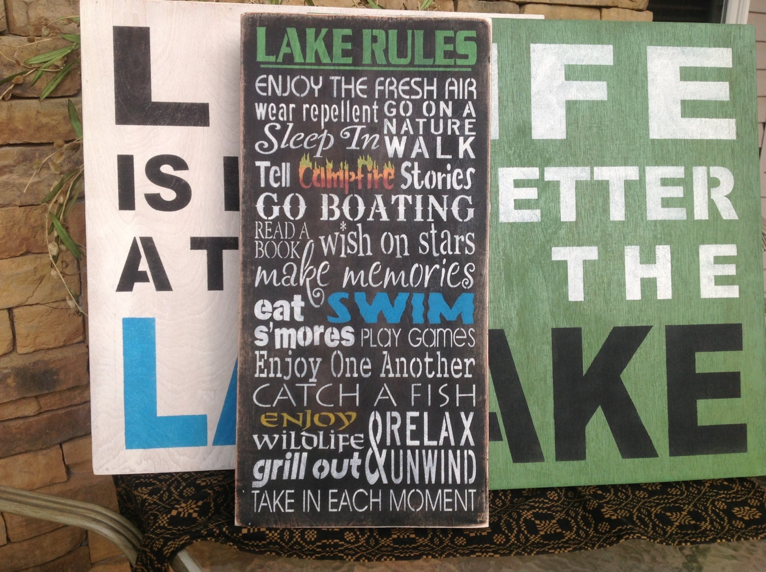 lake house decorations gifts - house decor