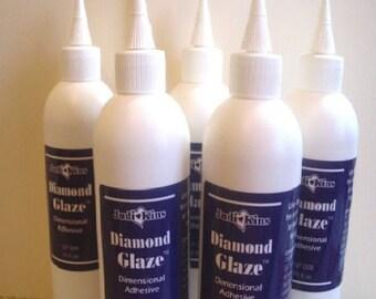 8oz  Diamond Glaze