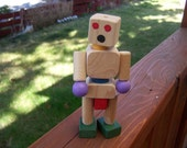 Stretch Wooden Robot