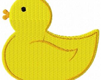 Rubber Duck Duckie Machine Embroidery Design 4x4 Hoop Instant Download Sale