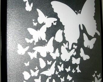 FLIGHT ..Magnetic Dry Erase Steel Memo Board / Office Decor / Organization / Housewarming Gift / Desk / Wall Decor / Message / CoWorker Gift