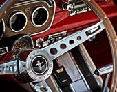 Classic Ford Mustang - 8 x 12 Print - Classic Car