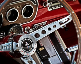 Classic Ford Mustang - 8 x 12 Print - Classic Car