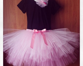 SEWN Simply Sweet 2 Tiered Tutu - Your choice of colors and length - perfect for parties, costume, flower girls