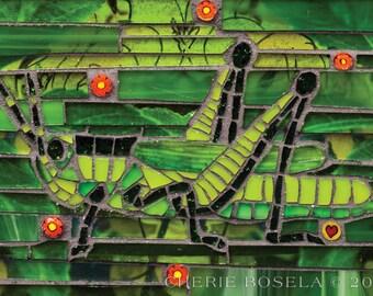 Glass-hopper 8x10 - Giclée Fine Art Print