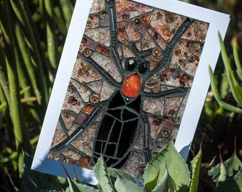 Blank Greeting Card - Looking for Love - the Lovebug Story mosaic