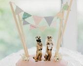Meerkat Cake Topper (Custom)
