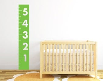 Child Wall Decal - Growth Chart Bar Decal  DB152