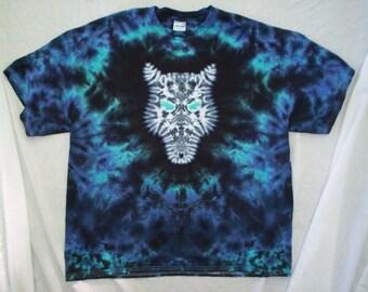 Wolf Tie Dye Size XL