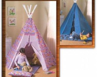 TEEPEE PATTERN / Fun Playhouse - Tent /  Tee Pee / Tpee / tp