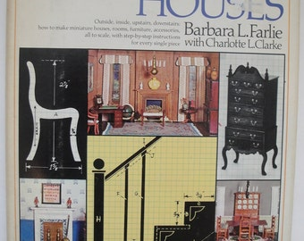 1975 All About Doll Houses by Barbara L. Farlie w/DJ