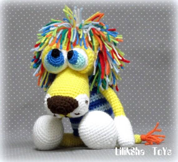 Amigurumi Mane : Crochet toy Amigurumi Pattern - Atan, The Lion with a ...