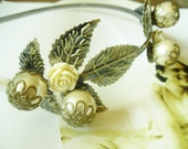 Free Shipping...Antique Brass Finished Headband