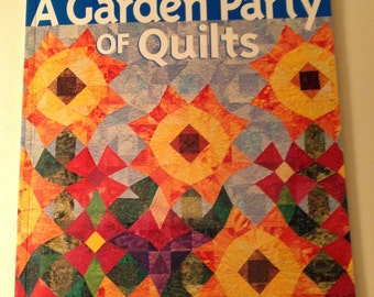 A Garden Party of Quilts pattern Book