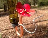 10 Hummingbird Feeder Heads (Make Your Own Feeders) (FREE SHIPPING)