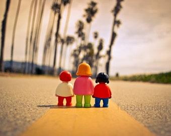 The Three Photograph. Three go to Santa Barbara, California. 8x12