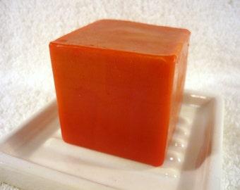 SALE - Lava Soap Block - Cinnamon Chai Scent