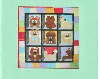 Bears in My Windown - quilt pattern