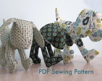 Puppy Dog PDF Sewing Pattern