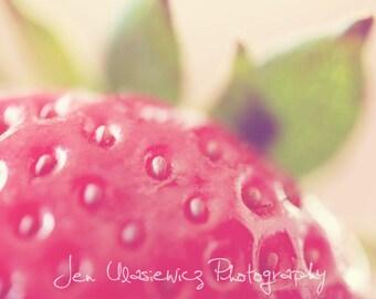 Yummy Strawberry Photography Print