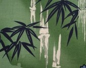 Bamboo Alexander Henry Fabric 1997 Rare Oop (1 yard) A62