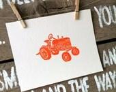 Applegate Tractor - Art Print