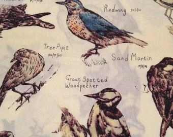 liberty of London- ornithology - last piece - half a metre
