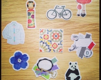 washi stickers - mt expo limited edition - set