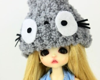 Crochet hat for lati white / pukipuki / felix brownie doll