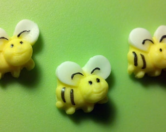 Bees Fondant Edible Bumble Honey Bee
