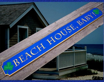 Beach House signs ~ Quarterboards & Personalized family signs ~ Cottage Signs - Lake House signs ~ Distressed.