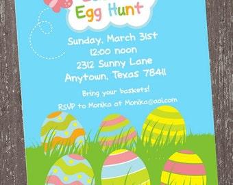 Easter Egg Hunt Invitations