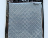 Wire Fence embossing folder - wire fence background - Darice folders - A2 Embossing Folders - Darice embossing - gift for card maker