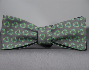 Recycling  Bow Tie