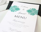 Printable Menu- Choose from 40 designs