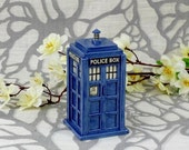 Made To Order: TARDIS Ceramic Miniature
