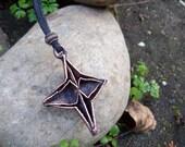 Origami Star Pendant SALE