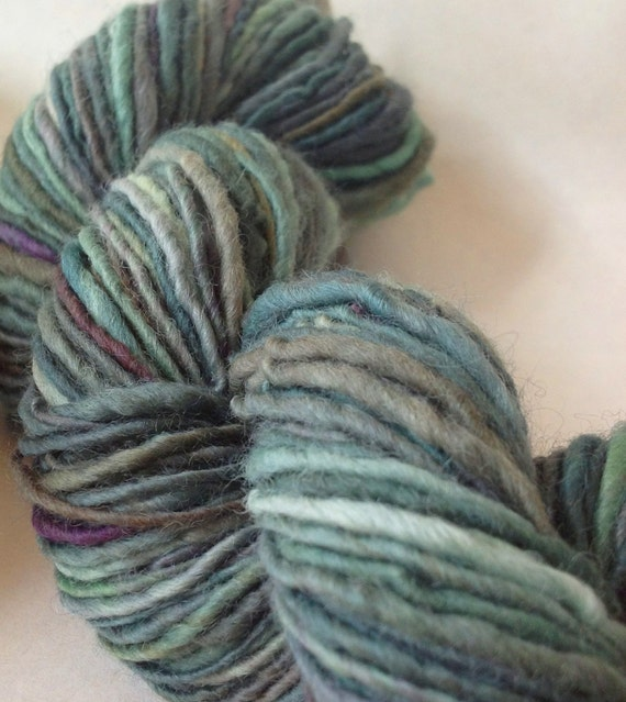 Dead Reckoning - handspun yarn, worsted weight
